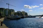 Sliema, Malta - 10th July 2018:Supreme Cruises Jade in the harbour of Sliema