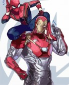 Iron Man Spiderman Comics Film Film Industry