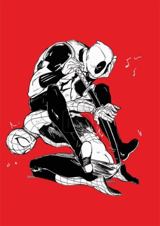 MARVEL COMIC SPIDERMAN DEADPOOL