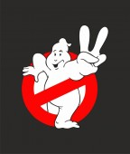 Ghostbusters logo vector Movie
