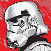Stormtrooper rad vector white