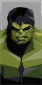 hulk vector green illustration