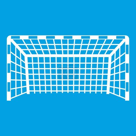 Goal post icon white