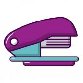 Stapler icon cartoon style