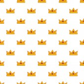 Baronet crown pattern seamless