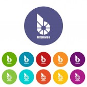 Bitshares icon simple style