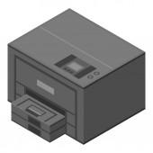 Xerox printer icon isometric style