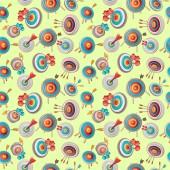 Arrow pattern seamless cartoon style