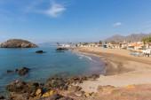 Playa de Nares beach Puerto de Mazarron Murcia south east Spain one of many beautiful beaches in the town