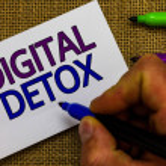 Text sign showing Digital Detox. Conceptual photo ...