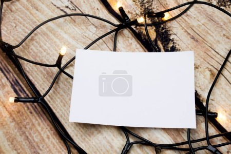 Photo for Design business Empty template isolated Minimalist graphic layout template for advertising . - Royalty Free Image
