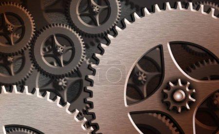 Photo pour Contrôle de l'administrateur système, configuration de l'engrenage Outils Concept . - image libre de droit