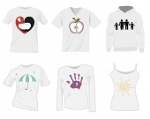 T-shirt templates design