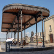 PORTICI, ITALY - 2020 - Old hystoric Station of Pi...