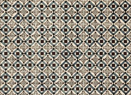 Photo pour Azulejos vintage, carreaux traditionnels portugais - image libre de droit
