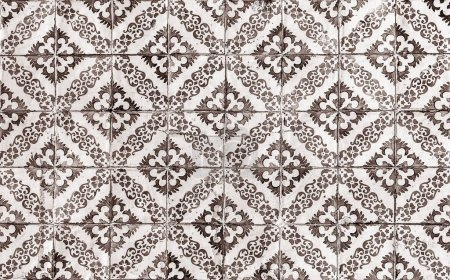 Photo pour Fond de carreaux de céramique vintage - image libre de droit