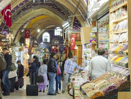 ISTANBUL MARCH 26 Grand Bazaar