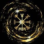 Decoding the ancient of the symbols Norsemen. Vegv...