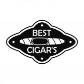 Best cuban cigar logo simple style