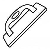 Construct wood tool icon outline style