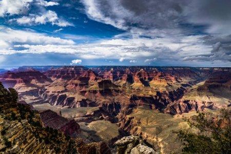 Photo pour Vue sur le Grand Canyon North Rim Arizona. Photo prise aux États-Unis . - image libre de droit