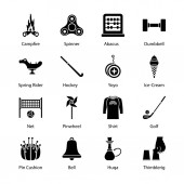 Hobbies and Interest Glyph Icons Pack