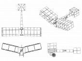 First plane to fly without propellant Conceived by inventor Santos Dumont