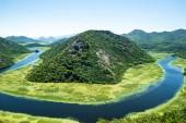 "Постер, картина, фотообои ""красивая река Чрноевица (Rijeka Чрноевица) в Черногории"""
