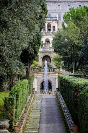 Photo pour Villa d'Este à Tivoli, Rome. Italie - image libre de droit