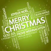 Word cloud Merry Christmas