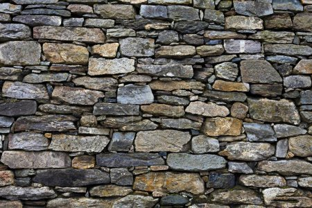 Stone wall background surface