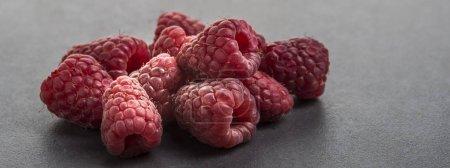 Photo pour Framboise (Rubus idaeus) vue rapprochée - image libre de droit