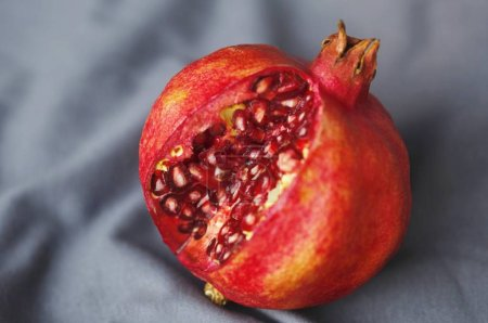 Photo for Pomegranate (Punica granatum) close up view - Royalty Free Image