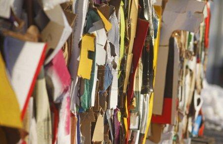 Photo pour Recyclage, déchets de papier, Allemagne, Europe - image libre de droit