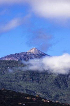 malerischer Blick auf Teide Vulkan, Teneriffa, Kanarische Inseln, Spanien, Europa