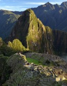 scenic view of Inca ruins of Machu Picchu in the morning light, UNESCO World Cultural Heritage Site, Urubamba Valley, Andes, Peru, South America
