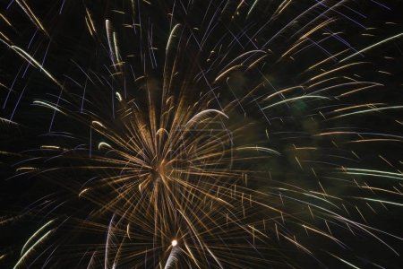 Photo for Scenic view of fireworks in night sky - Royalty Free Image