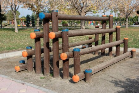 Photo for Children's playground in the park - Royalty Free Image