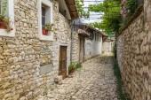 Historical town Berat, ottoman architecture in Albania, Unesco World Heritage Site.