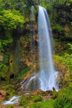 Cascades de Gostilje dans les environs de Zlatibor, Serbie occidentale .