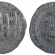 Ancient Spanish silver coin of the Kings Fernando ...