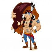 American Indian tribal resident hunter