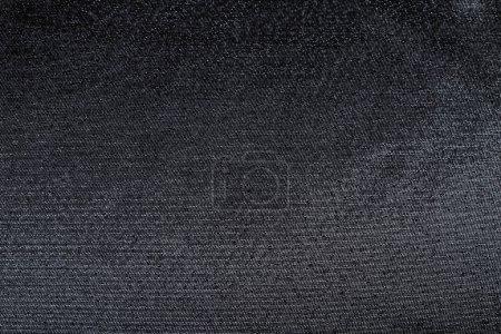 Foto de Tela negra con lentejuelas metálicas, brocado suave - Imagen libre de derechos