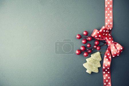 Photo pour Décorations de Noël incroyables. Décorations de vacances concept - image libre de droit