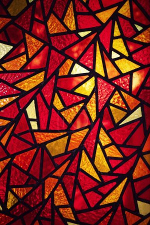 Abstract background or texture detail of a mosaic ...