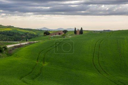 chapelle en Toscane en Val di Orcia près de Pienza