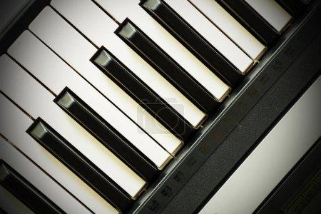 Photo pour Clavier piano bouchent - image libre de droit