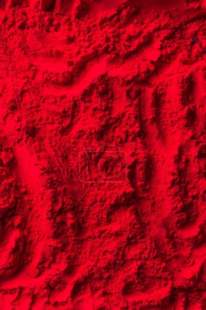 Photo for Top view of red powder surface - Royalty Free Image