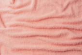 vue de dessus du textile doux terry beige comme toile de fond