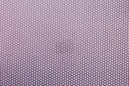 top view of violet spotted textile as background